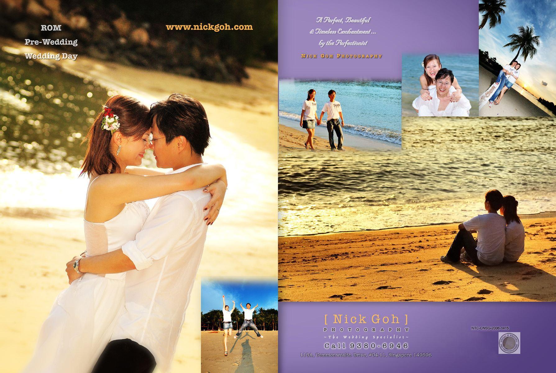 Wedding Bridal Photography - Nick Goh